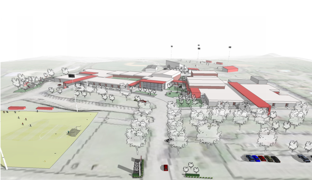 Education - Ezell Harding Christian School Masterplan