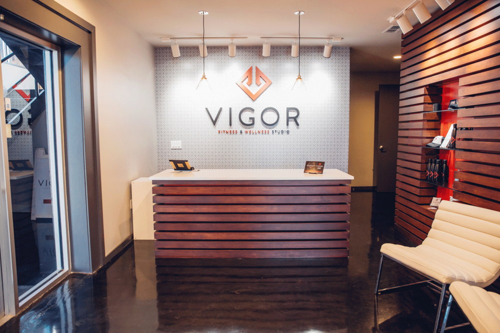 Vigor Fitness and Wellness Studio entrance
