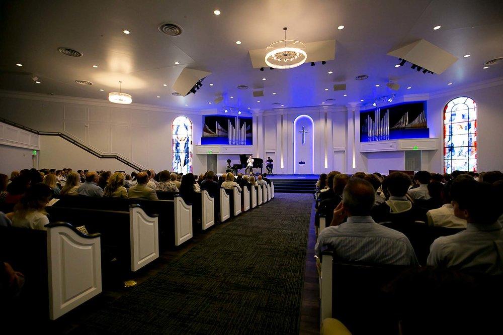 Chapel in use
