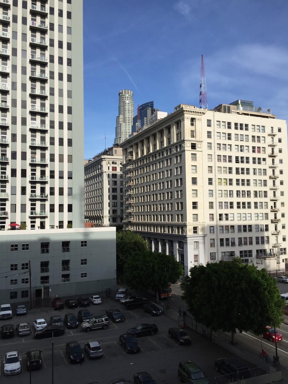 Downtown, LA.