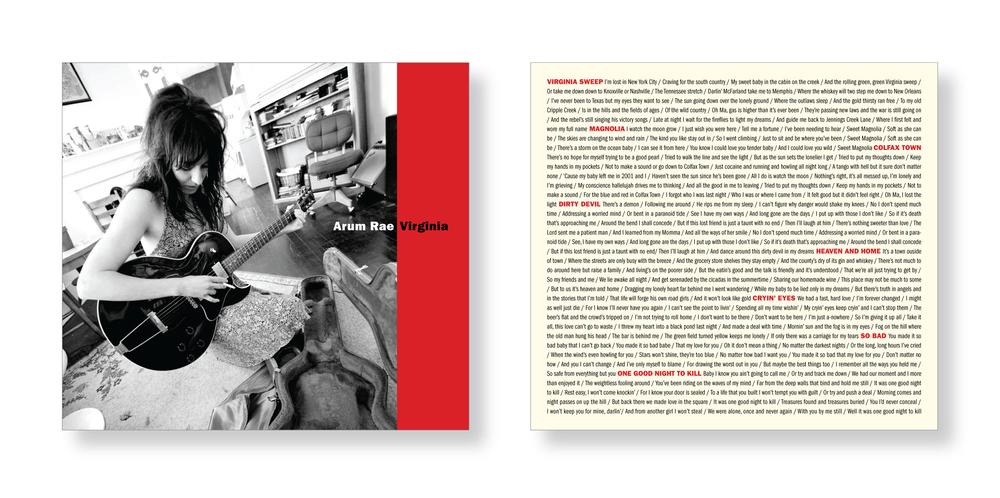 Album Cover Design, Arum Rae