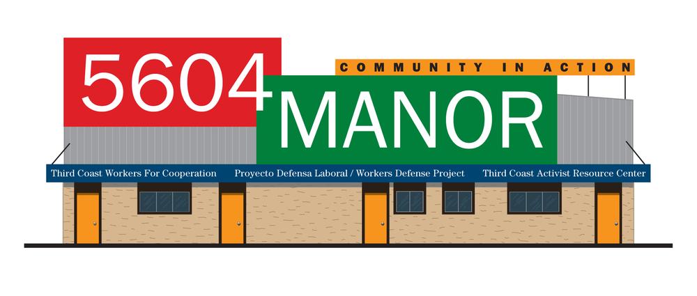 Signage Design, 5604 Manor Community Center, Austin, Texas