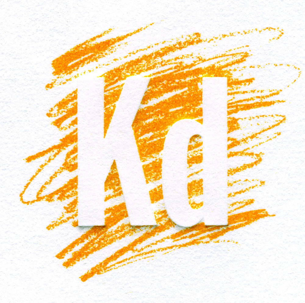 Logo Design, Klitsner Design (embossed stationery view)