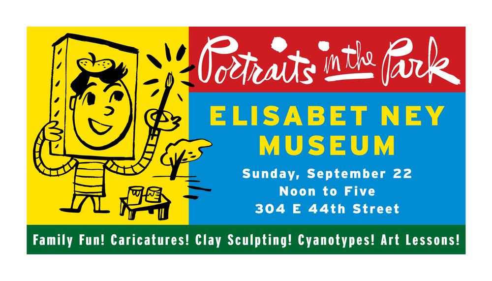 Banner Design, Elisabet Ney Museum, Austin