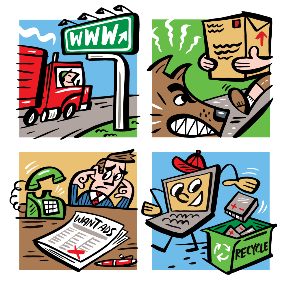 Spot Illustrations: Wall Street Journal