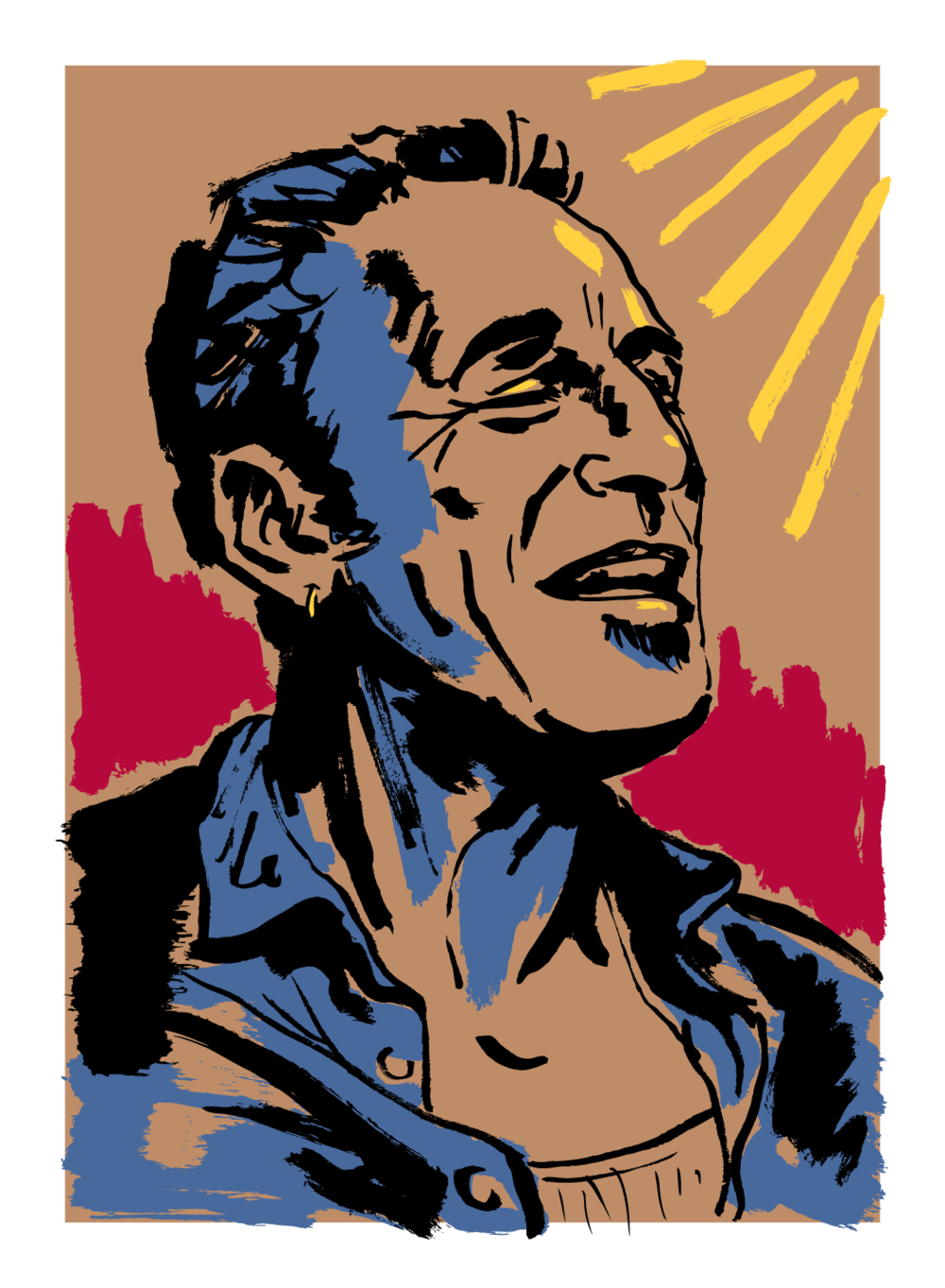 Bruce Springsteen For Austin Post