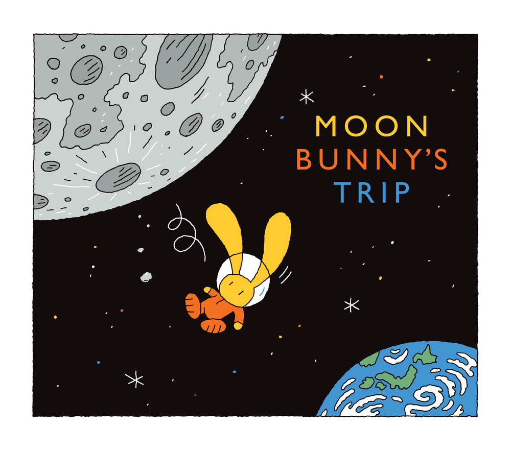 Moon Bunny Tripped on a Moon Rock and Fell to Earth