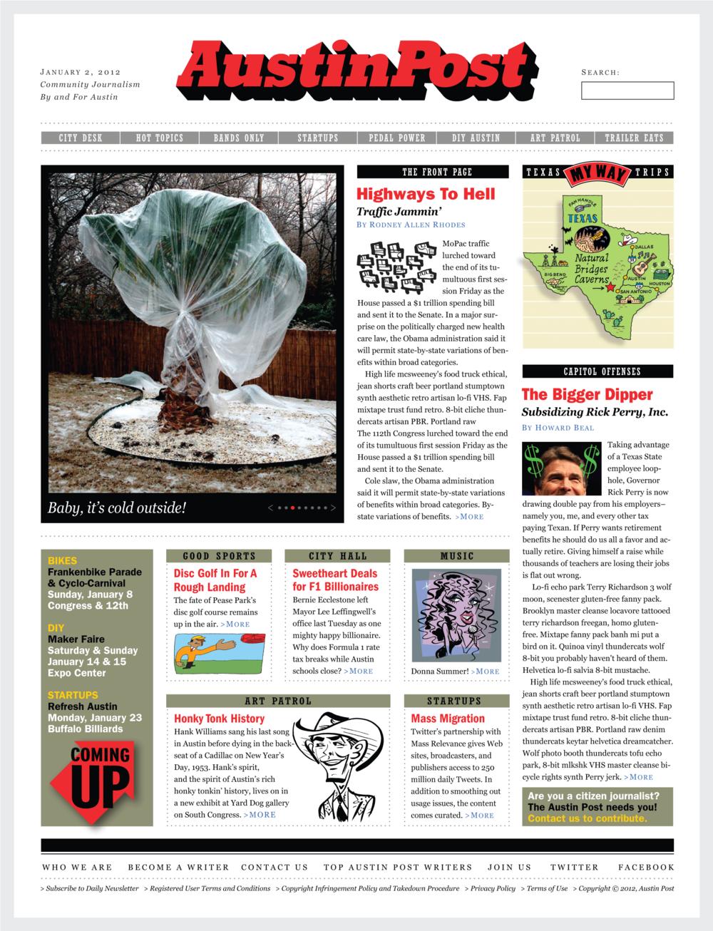 Website Design, Austin Post