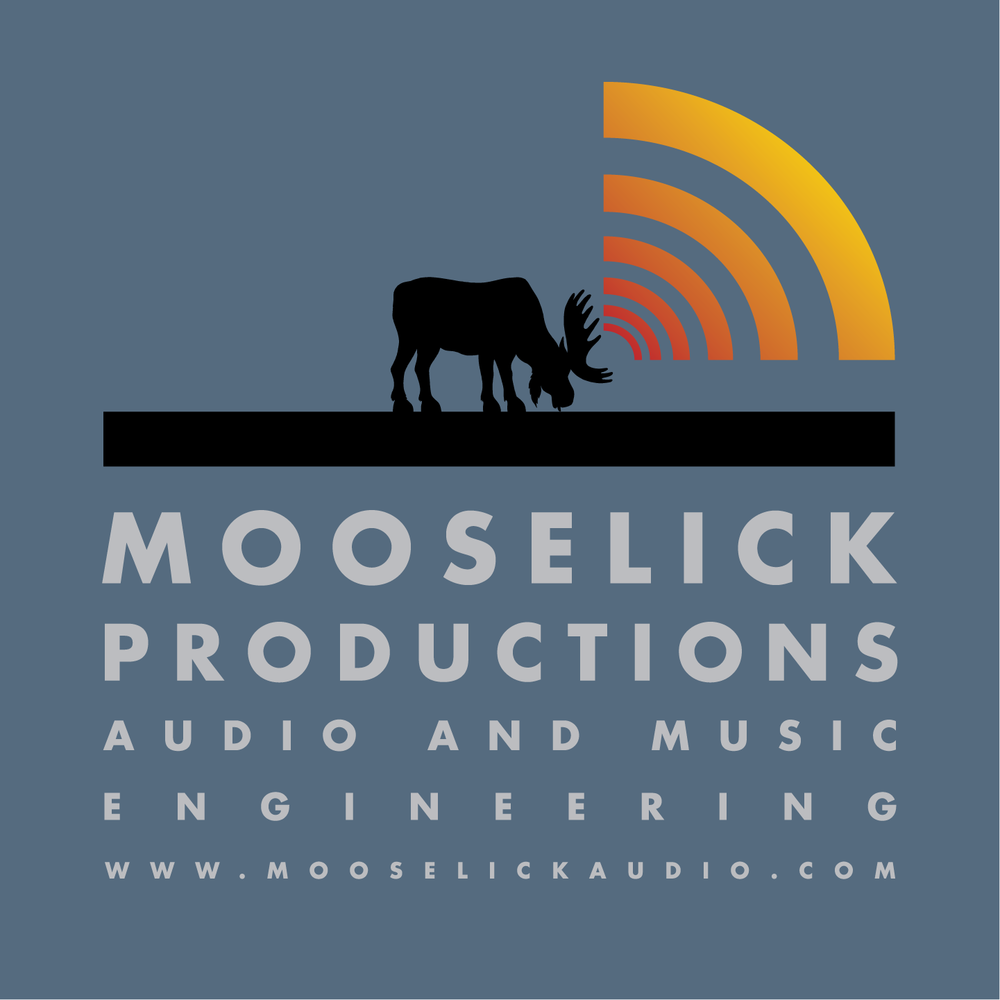 Logo Design< Mooselick Productions Audio and Music Engineering