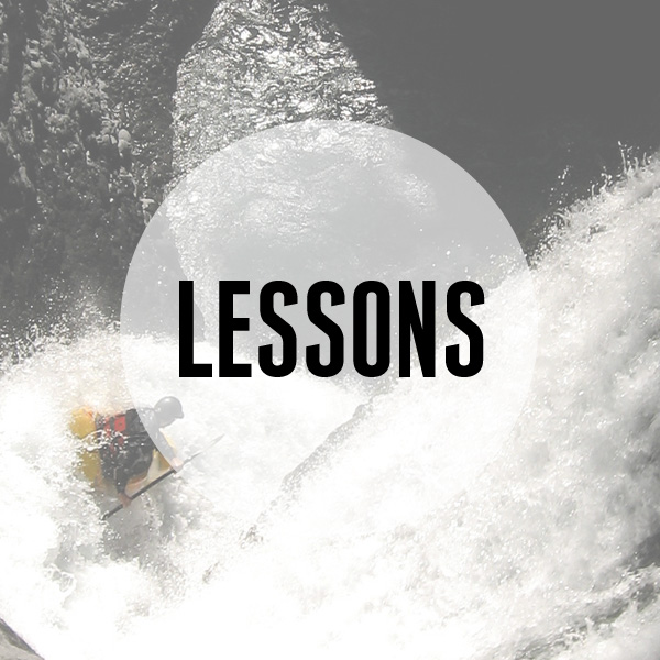We offer kayak lessons!