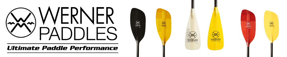 We carry Werner Paddles products.