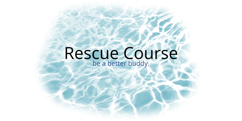 Rescue Course: build confidence