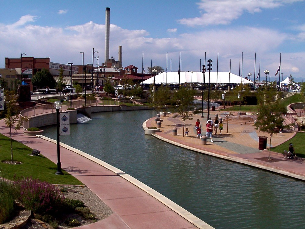 The Pueblo Riverwalk has a gentle current that is great for beginners.
