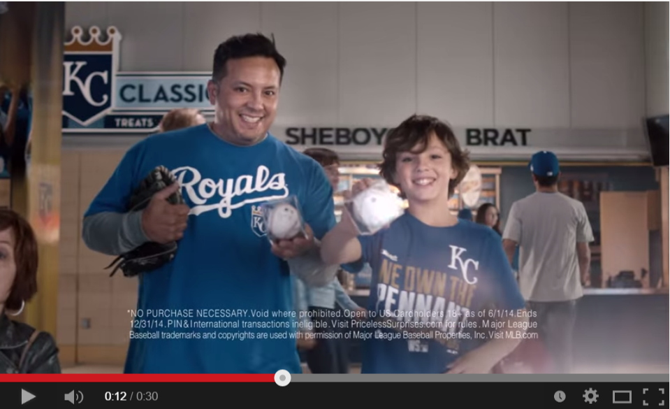 Luis and Xavier Garcia star in MasterCard commercial.