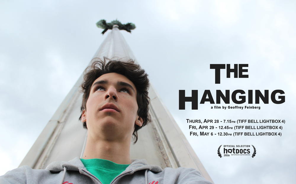 THE HANGING will have its world premier at Hot Docs '16