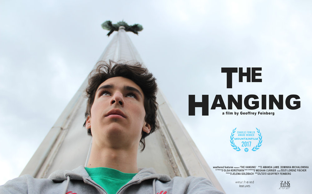 THE HANGING wins at Telluride Mountainfilm!