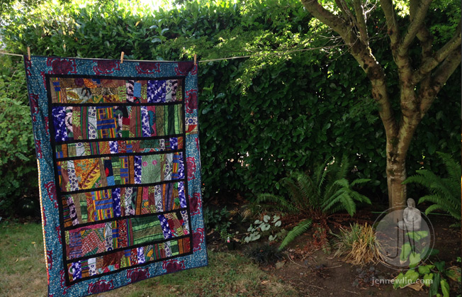 Quilt donated to the Ghana Educational Collaborative.
