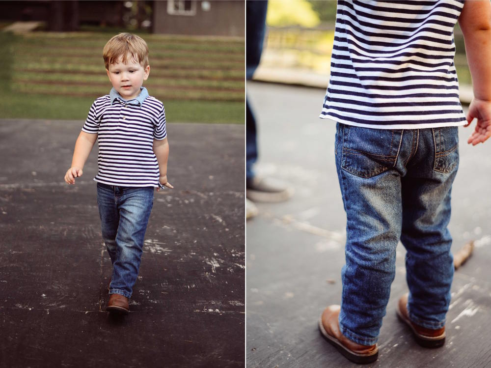 southern boy in jeans and boots