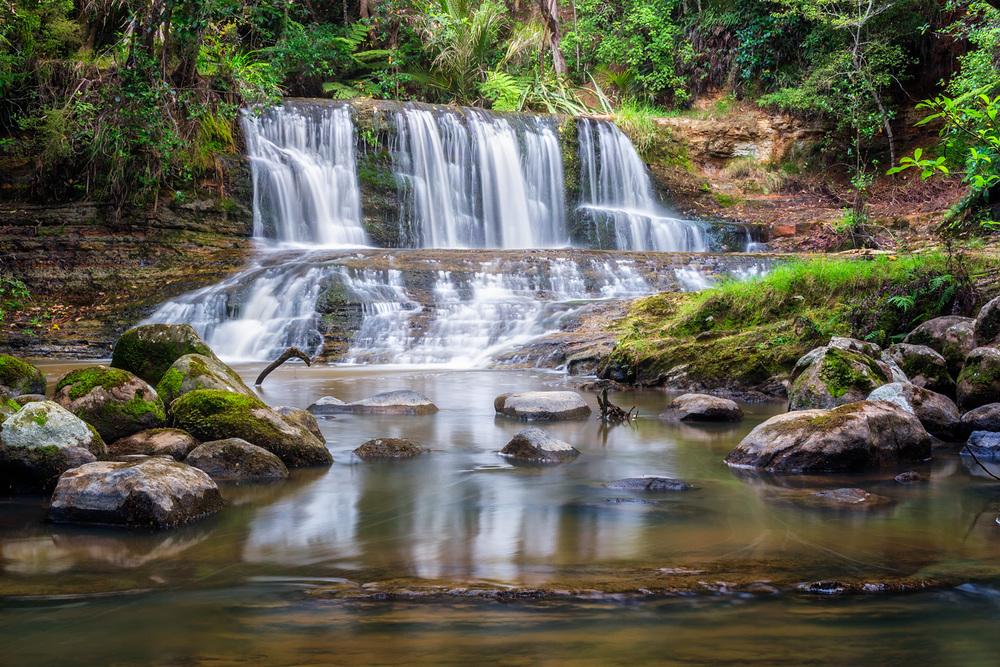 Waitangi Stream Cascade Two - 30mm | 4sec | f16 | ISO100