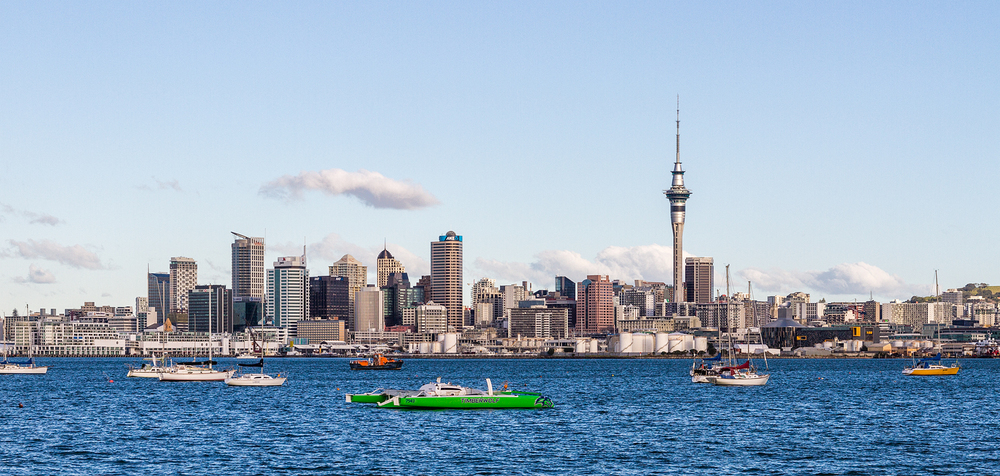 Auckland City from Northcote Point. 50  mm | 1/400 sec | f8 | ISO100