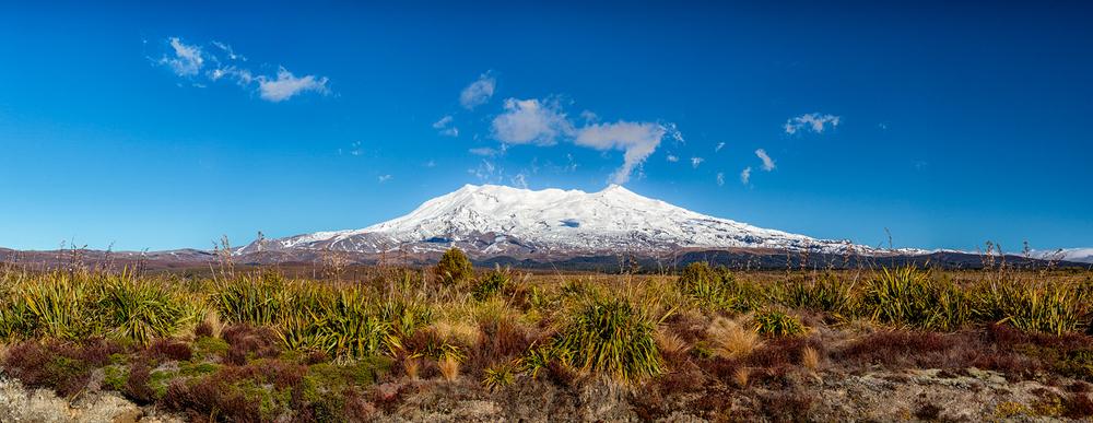 Ruapehu Panorama. 13  mm | 7 shot pano @ 1/160th sec | f8 | ISO100