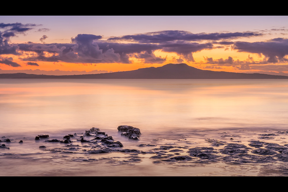 Rangitoto Island at Dawn | 50mm | 15sec |f16 | ISO100