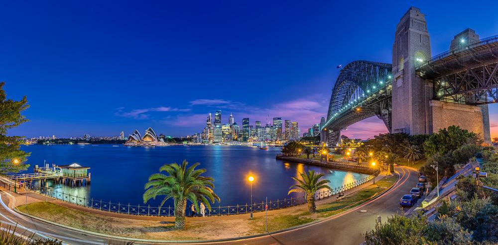 Sydney City Panorama | 2 shot panorama @ 20mm | 30.0sec | f8.0 | ISO100