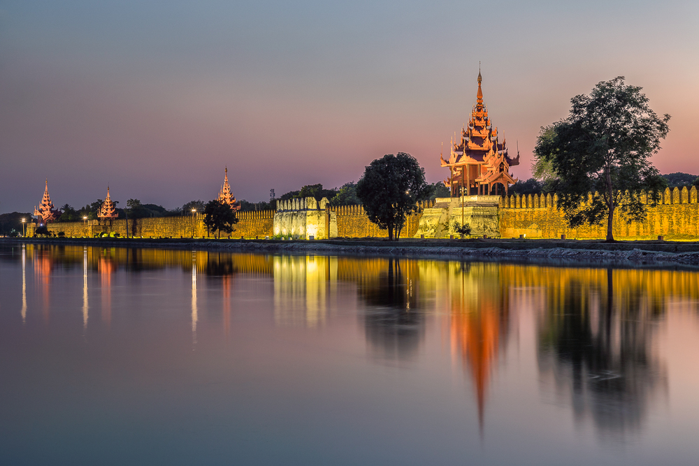 Mandalay Royal Palace Wall | 70mm | 30sec | f7.1 | ISO200