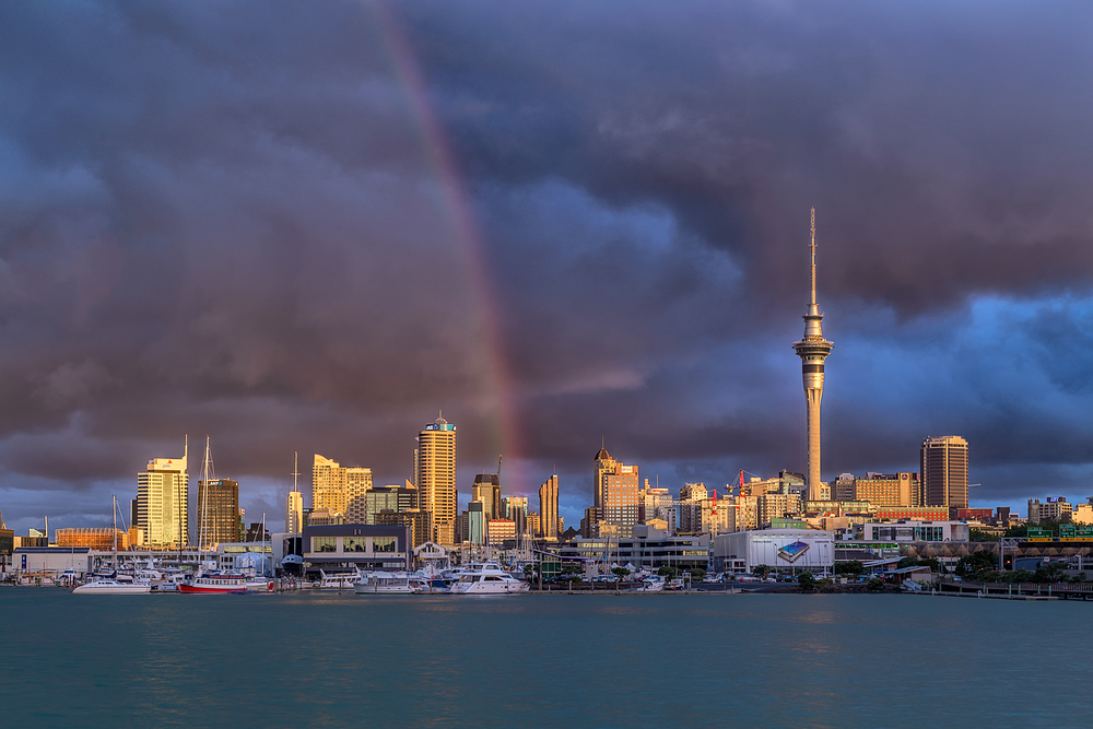 Stormy skies over Auckland | 58mm | 1.0sec | f9.0 | ISO100