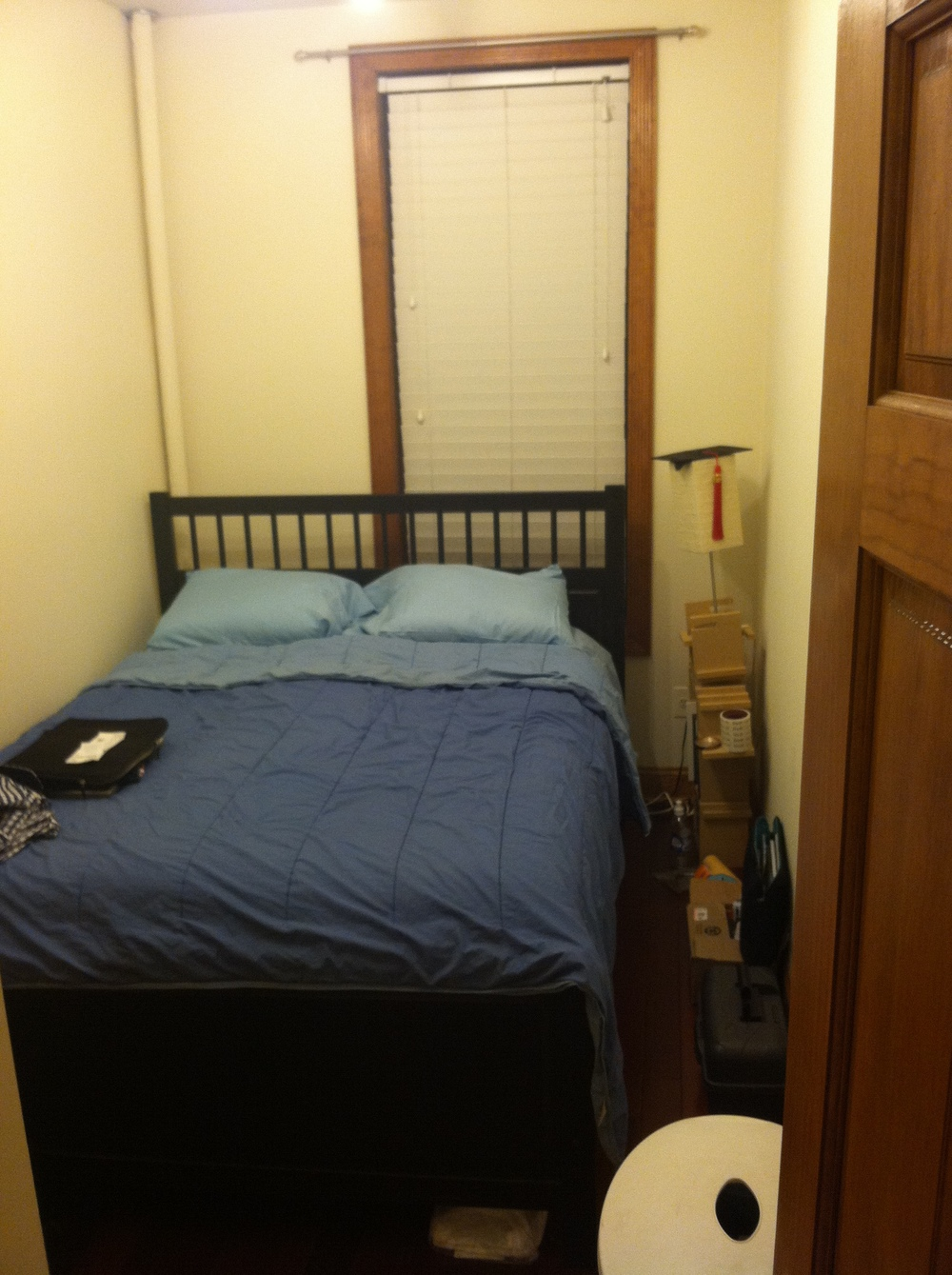 My first room in New York. I literally laughed for 5 minutes looking at this now.