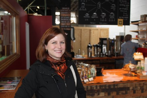 Lora Woodruff, Third Wave Coffee Tours' owner and tour guide
