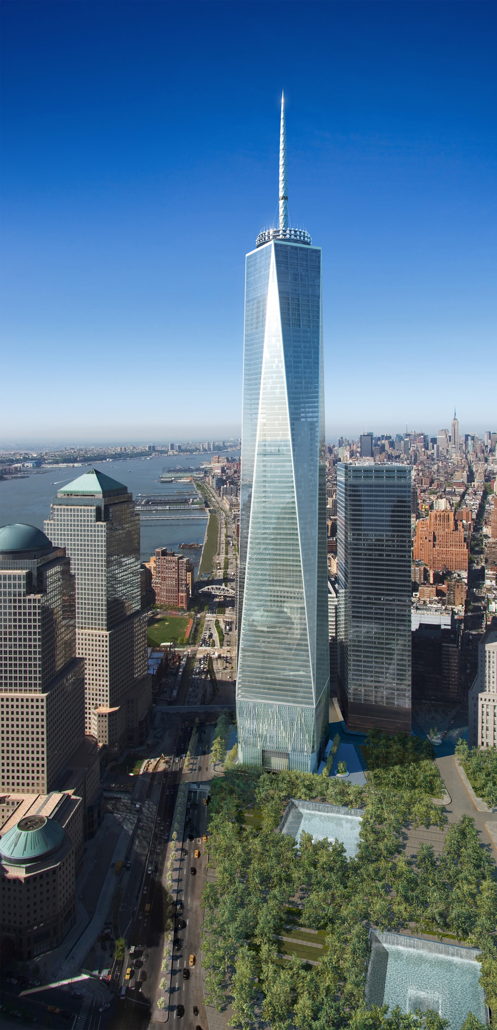 One World Trade Center, SOM, 2013