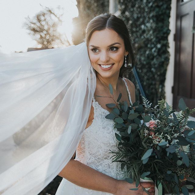 Holy smokes. How flippin gorgeous is Meg?! Those dimples! Such a beauty.  #amieeblaskophoto #weddingphotographer #bridalportrait #bridetobe #beautifulbride #davidscountryinnbride #goldenlight #naturallight #lxc03 #tribearchipelago #njphotographer