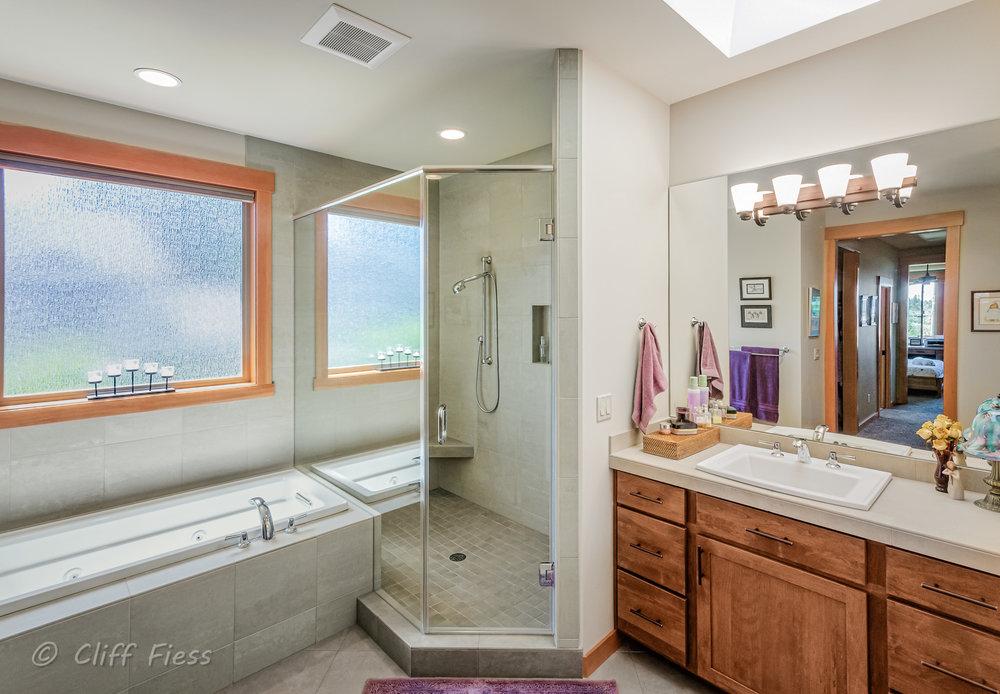 Gig Harbor residence bathroom