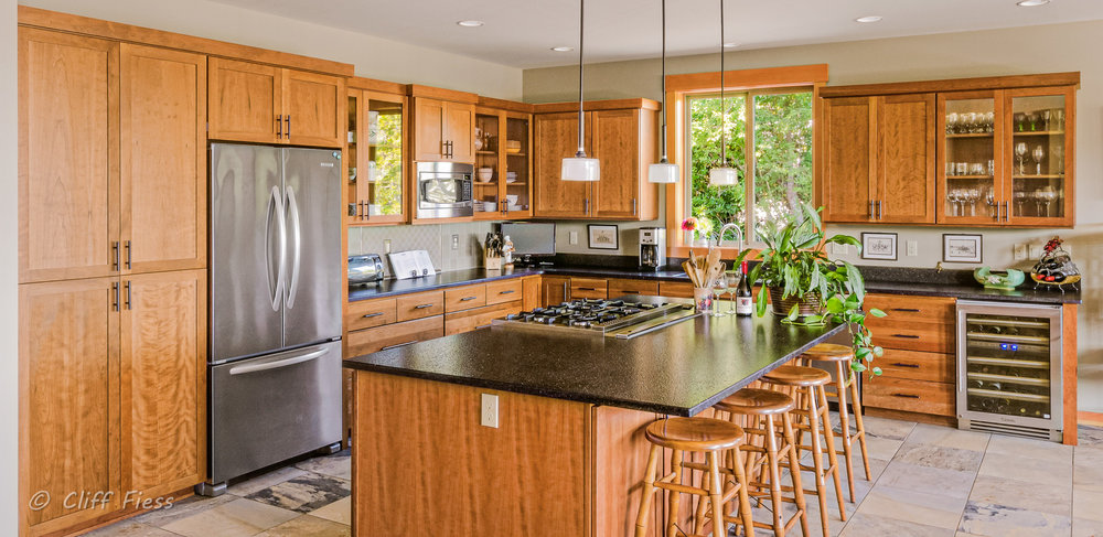 Kitchen of a Gig Harbor residence