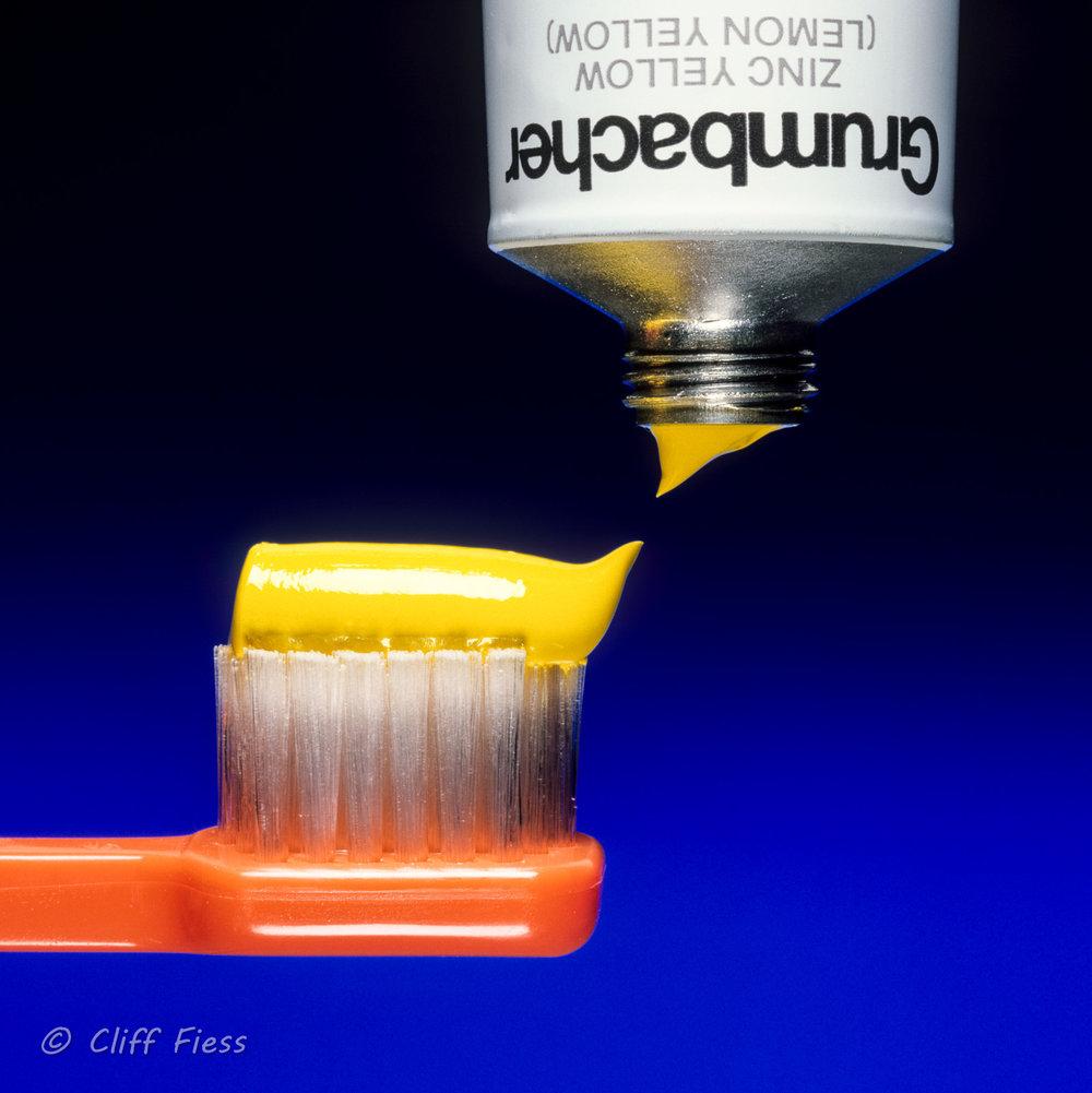 Yellow Toothpase