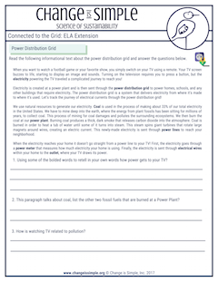 Common Core aligned ELA sheets