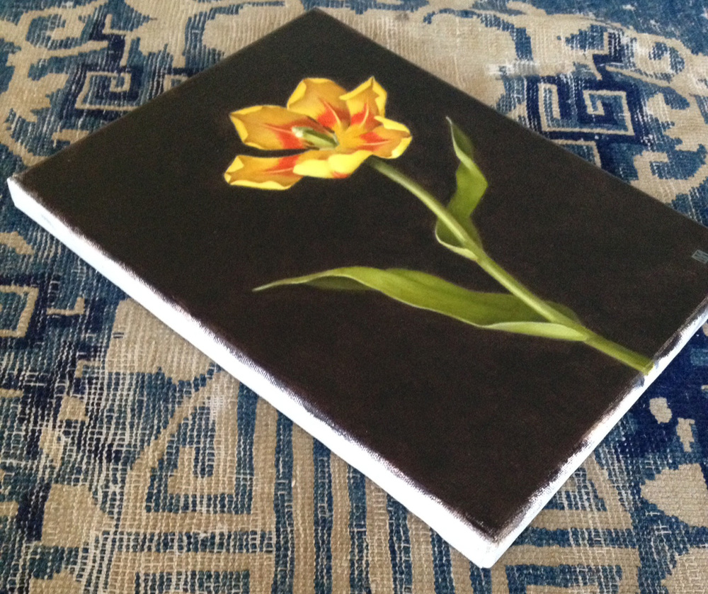 yel tulip on rug (2).jpg