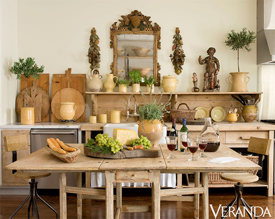 A Parisian Cowgirl's Dream Kitchen