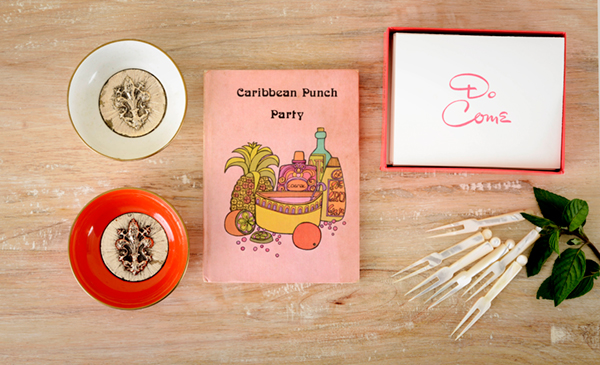 Rum Punch Party Kit Vintage Accessories
