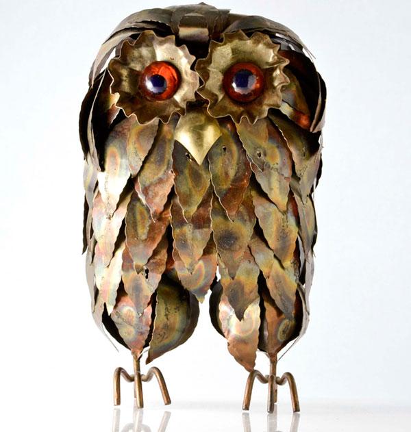 brutalist owl