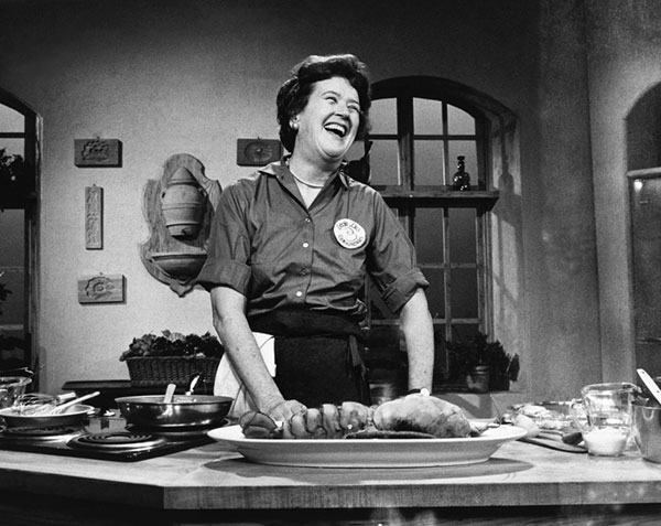 I love writing about older women. I hope to do more in the future.  This post   about Julia Child  was very popular, as well as  this one about Martha Stewart  and  this one about Temple Grandin .  Photo of Julia Child by Paul Child .