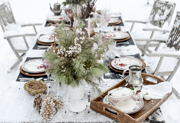 WIth this post, you begin to realize I have an unhealthy obsession with dishes. This outdoor tablescape got me featured on the blog, The Enchanted Home, and resulted in many new southern subscribers. Thank you Tina! Photo by Renn Kuhnen.