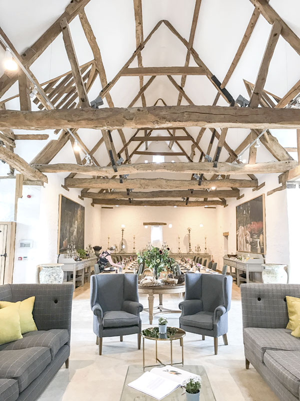 The tithe barn was the first structure that Caryn renovated to become the cookery school. Caryn spares no expense -- she is in this endeavor for the long haul. Every structure is technically advanced with ground-sourced heatings and sophisticated ventilations.