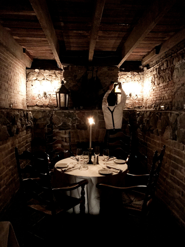 The Olde Pink House is three levels of fine dining including a warren of subterranean rooms in which you can dine by candlelight, enjoy live jazz, and await the resident ghost.