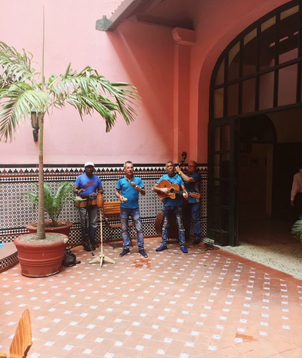 The music! We went to Cuba to sample the music and came home gorged. Music was everywhere. More than New Orleans or Nashville, you simply walk down the street in Havana and stumble upon a band of musicians.