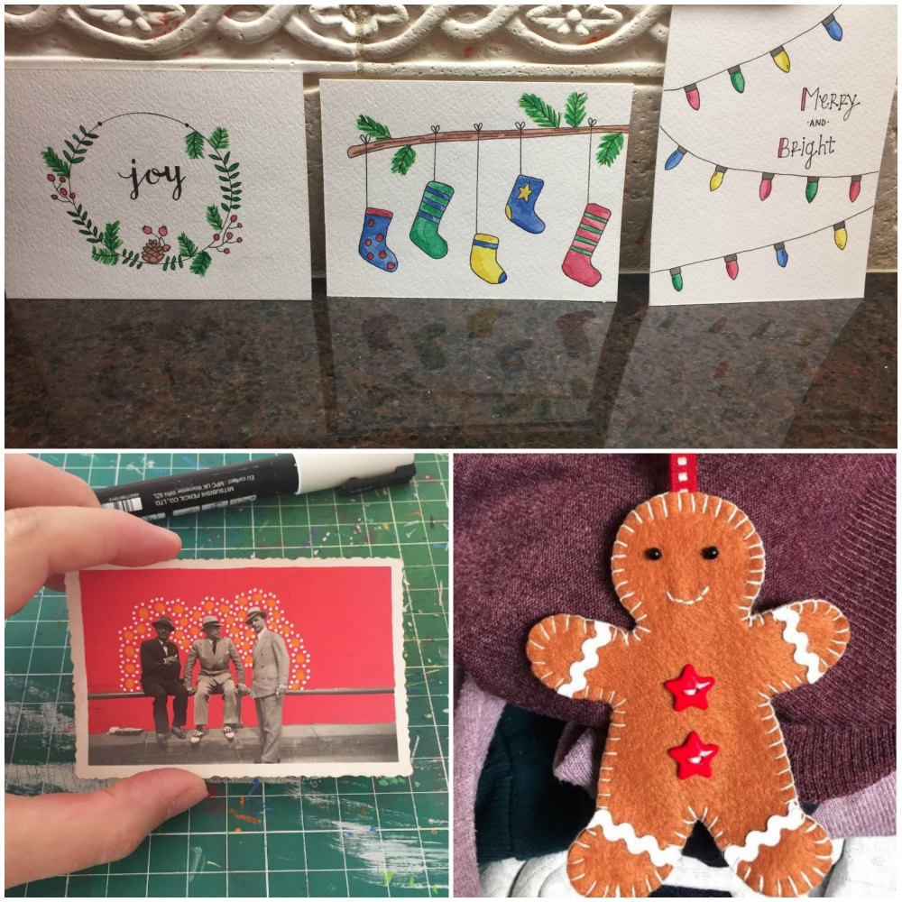 Photos sent from readers of holiday projects.