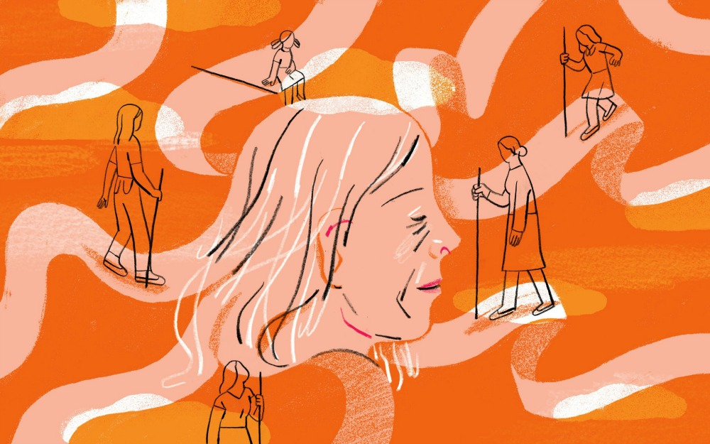 Hopefully you won't hit a paywall with this   fine essay  on happiness and growing older. (Thanks Rosie!)