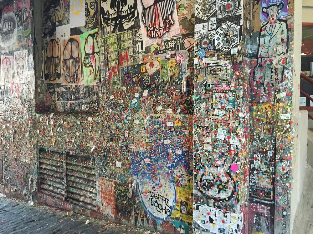yay gum wall!