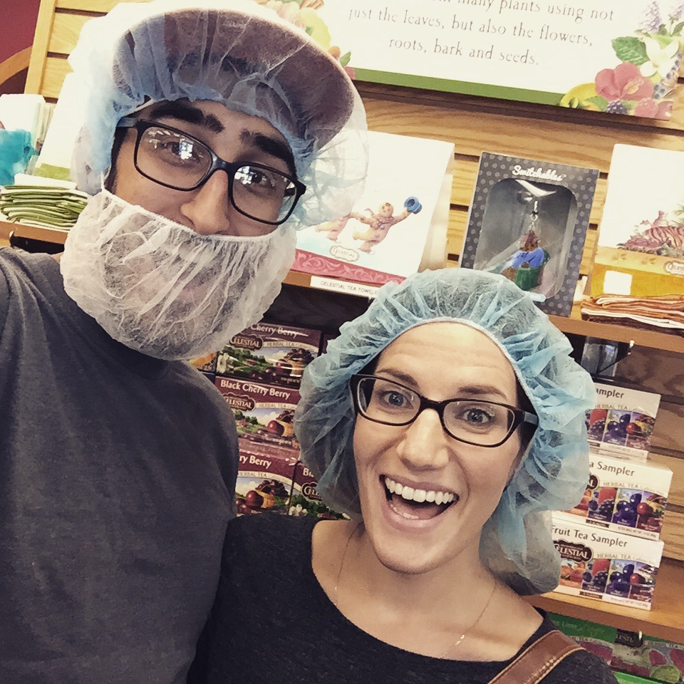 you have to wear hair nets